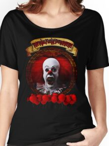 Tim Curry Pennywise Stephen King T-Shirt Women's Relaxed Fit T-Shirt
