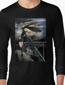 Standing In The Edge Long Sleeve T-Shirt
