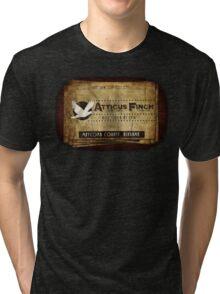 Atticus Finch To Kill A Mockingbird T-Shirt Tri-blend T-Shirt