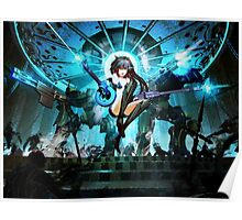 Epic Win Black Rock Shooter Poster
