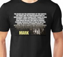 Mark Twain Novels T-Shirt Unisex T-Shirt