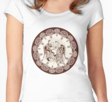 coffee and love Women's Fitted Scoop T-Shirt