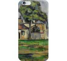 Paul Cezanne - Banks of the Marne  1888 iPhone Case/Skin