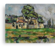 Paul Cezanne - Banks of the Marne  1888 Impressionism  Landscape Canvas Print