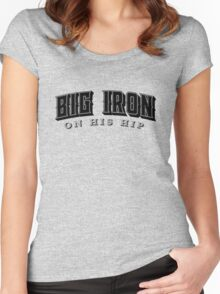 Big Iron  Women's Fitted Scoop T-Shirt