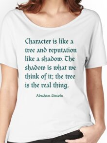 Tree of Character VINTAGE BLUE Women's Relaxed Fit T-Shirt