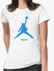 Bernie Jumpman Womens Fitted T-Shirt