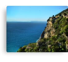 Rugged Coast Of Italy Canvas Print