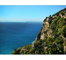 Rugged Coast Of Italy Photographic Print