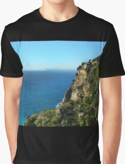 Rugged Coast Of Italy Graphic T-Shirt