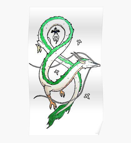 Haku Dragon Poster