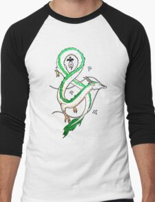 Haku Dragon Men's Baseball ¾ T-Shirt