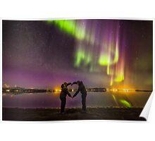 Love Under the Aurora Poster