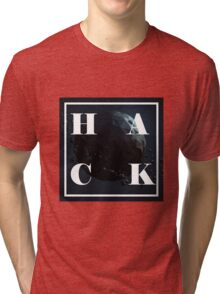 Hack the world Tri-blend T-Shirt