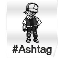 #Ashtag Pokemon Retro Poster