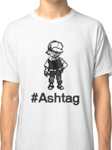 #Ashtag Pokemon Retro Classic T-Shirt