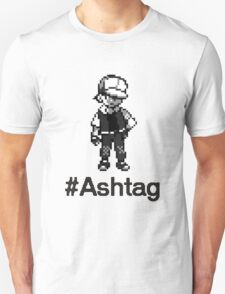 #Ashtag Pokemon Retro T-Shirt