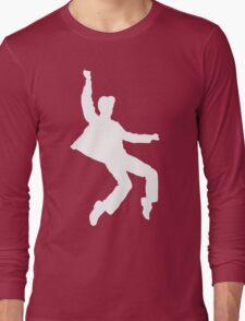 White Elvis Long Sleeve T-Shirt