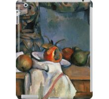 Paul Cezanne - Ginger Pot with Pomegranate and Pears 1893 Impressionism  Still Life iPad Case/Skin