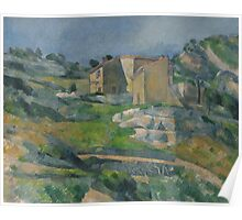 Paul Cezanne - Houses in Provence The Riaux Valley near L Estaque 1883 Poster