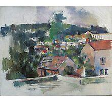 Paul Cezanne - Landscape 1888 - 1890 Photographic Print