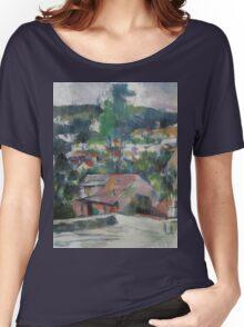 Paul Cezanne - Landscape 1888 - 1890 Women's Relaxed Fit T-Shirt