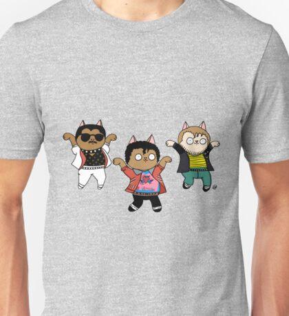 Beat it Dance Cats Unisex T-Shirt
