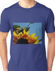 Alberta Sunflower Blue Sky Unisex T-Shirt