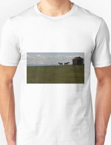 Alberta Panorama - God's Country Unisex T-Shirt