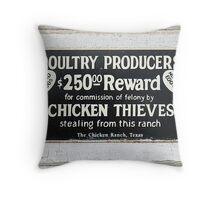 Chicken Coup Throw Pillow