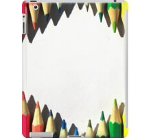 Colored Pencil Diamond Shape iPad Case/Skin