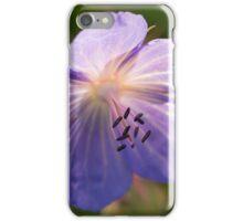 Meadow Crane's-bill iPhone Case/Skin