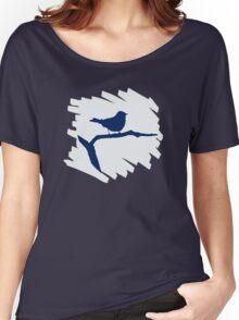 Blue Bird Silhouette Women's Relaxed Fit T-Shirt