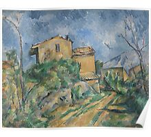Paul Cezanne - Maison Maria with a View of Chateau Noir  1895 Poster