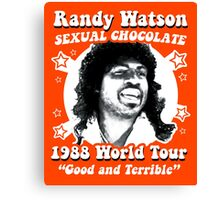 Randy Watson 1988 World Tour Canvas Print