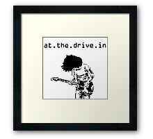 At. The. Drive. In. Framed Print