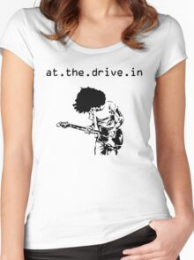 At. The. Drive. In. Women's Fitted Scoop T-Shirt