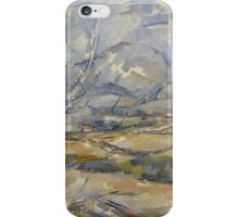 Paul Cezanne - Montagne Saint-victoire  1890 iPhone Case/Skin