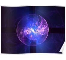 Static Sphere Poster