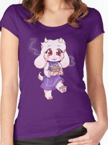 Toriel Chibi Women's Fitted Scoop T-Shirt