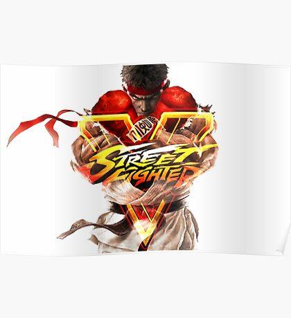 Ryu SFV Poster