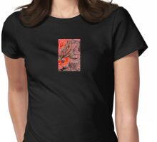 Lady Do Rouge Womens Fitted T-Shirt