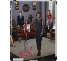 How to get away with murder-cast iPad Case/Skin