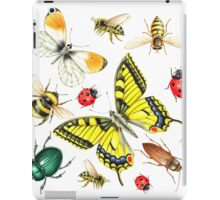 set of watercolor insects iPad Case/Skin
