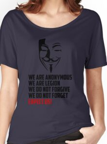 We are Anonymous Women's Relaxed Fit T-Shirt