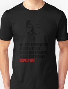 We are Anonymous Unisex T-Shirt
