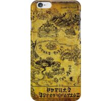 The Ultimate Hyrule Poster iPhone Case/Skin