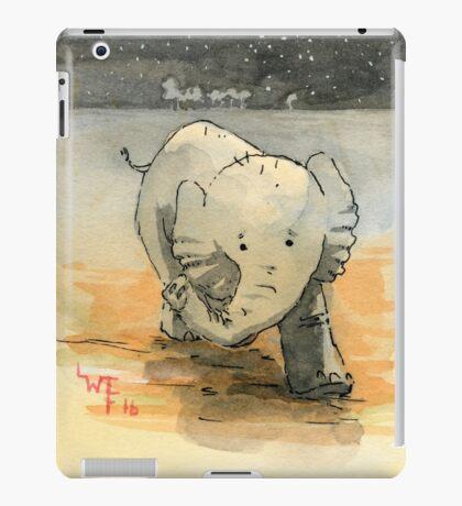 Elephant sketch iPad Case/Skin