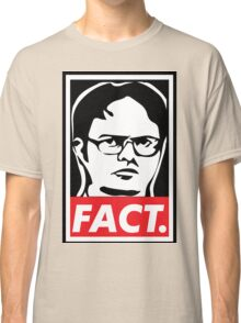 "The Office: Dwight ""FACT' Obey Classic T-Shirt"