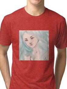 A Nereid's Hair Falls Like Water Tri-blend T-Shirt